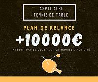 Plan de Relance Tennis de Table