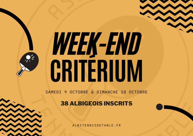 1er Tour Critérium (2021-2022)